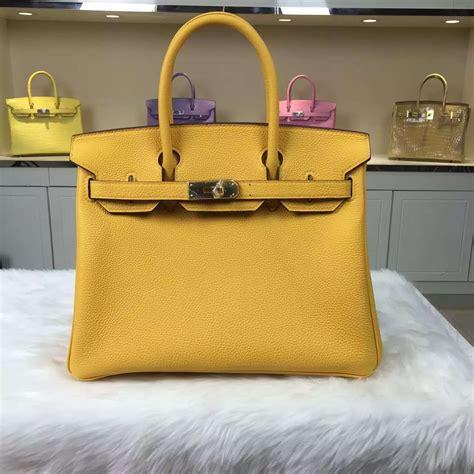 Hermes Bag Kayu Yellow hermes yellow leather handbag birkin