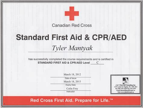 aid certificate template lovely gallery of american cross certification lookup