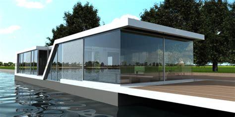 small glass house on the water watervilla kortenhoef