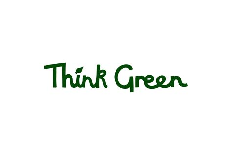 Think Green nhs think green