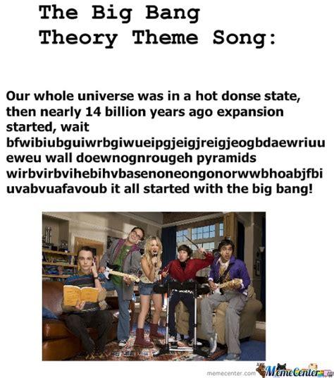 theme song big bang theory big bang theory memes best collection of funny big bang