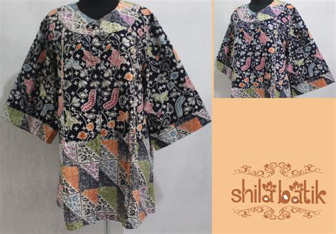 Jual Baju Big Size Modis Jual Blouse Batik Big Size Silk Pintuck Blouse