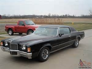 1972 Pontiac Grand Prix 1972 Pontiac Grand Prix Black Original Survivor