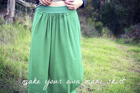 tea with make your own maxi skirt