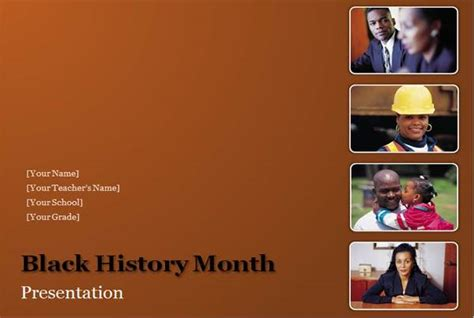 black history powerpoint templates black history month presentation powerpoint templates