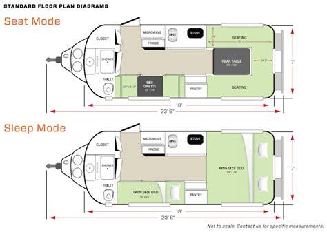 cing trailer floor plans sneak peek at oliver travel trailers 2015 legacy elite ii