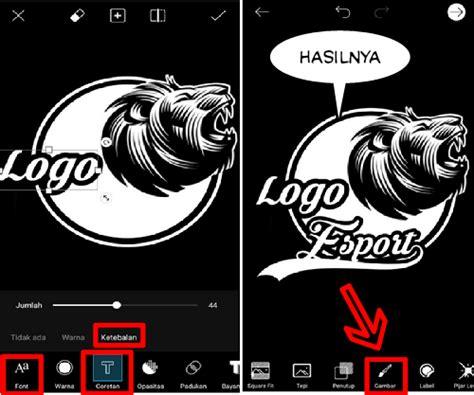 tutorial picsart typography tutorial esport logo design via picsart