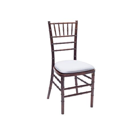 Chair Rental by Baker Rentals Fruitwood Chiavari Chair Rentals