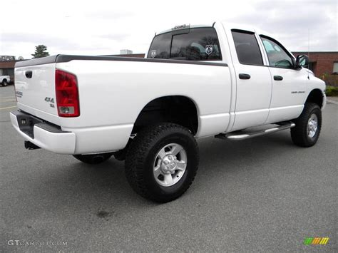 2003 dodge ram 2500 4x4 bright white 2003 dodge ram 2500 slt cab 4x4 exterior