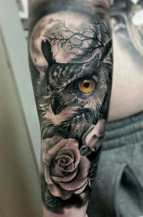 owl tattoo knee pin de pszeklety em owl pinterest tatuagens tatuagens