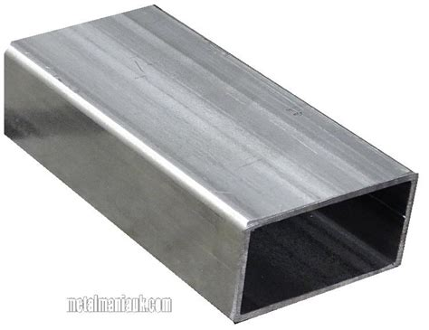 stainless steel rectangular box section rectangular hollow section steel erw 80mm x 40mm x 2mm