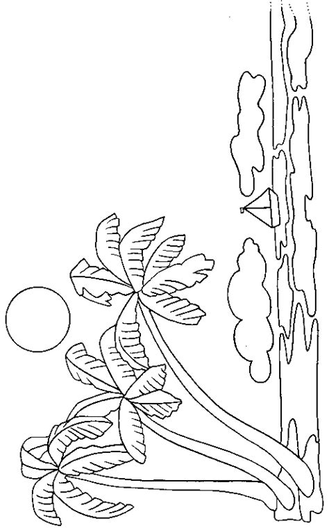 Sabal Palm Coloring Page Coloring Pages Palm Tree Coloring Pages