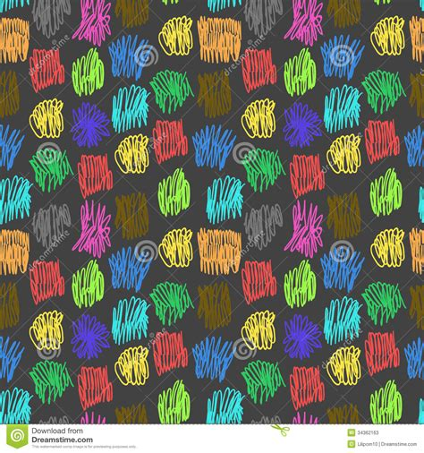 interior design color patterns seamless pattern with color scrawl stock vector image