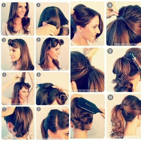 how to dance jive with long hair 1950 s vintage ponytail beauty pinterest vintage