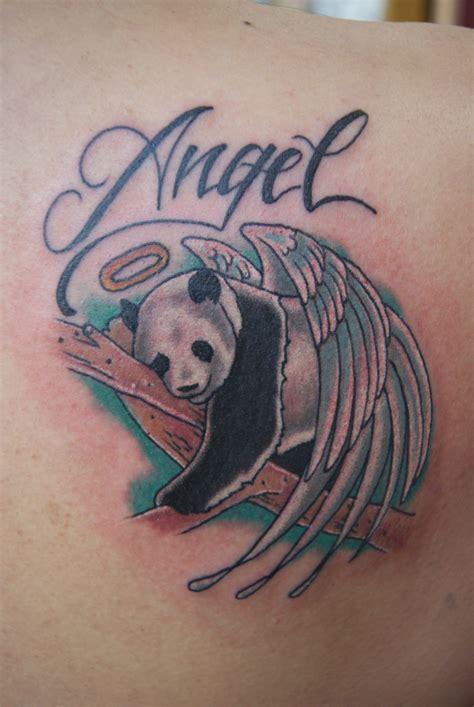 Panda Angel Tattoo | panda angel by tattoosbymaymay on deviantart