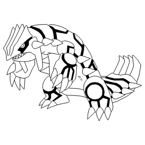 Groudon Coloring Pages groudon coloring pages az coloring pages