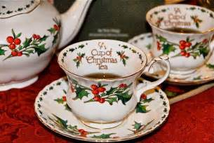 christmas tea i antique online