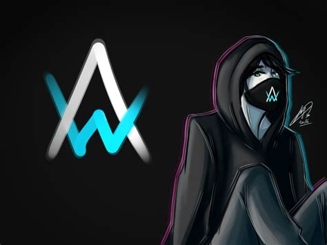 alan walker cartoon alan walker inspired by vexo san artists pinterest dj