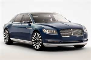 2016 Ford Models When Can I Order A 2016 Lincoln Continental 2017 2018
