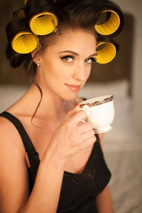 my boyfriends hair in curlers 568796 hair rollers and curlers pinterest makeup my
