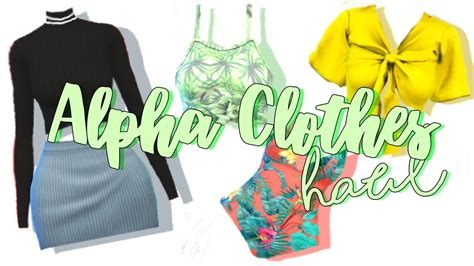 Dress Kacika Alpha Navi alpha clothes haul the sims 4 cc list