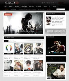 1000 Images About 10 Of The Best Joomla Music Templates On Pinterest Joomla Templates Free Website Templates Mobile Compatible