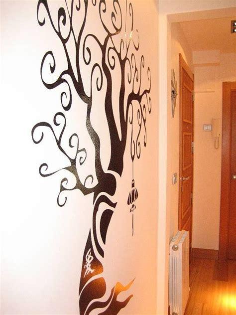 plantillapara decorar arbol plantilla de arbol pintar pared imagui