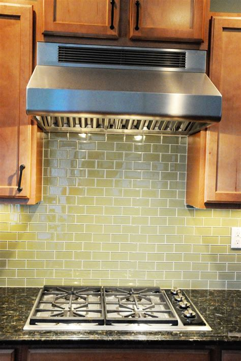 glass tile for backsplash in kitchen simple kitchen updates on the polka dot chair