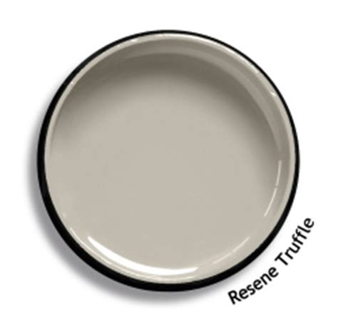 resene truffle colour swatch resene paints