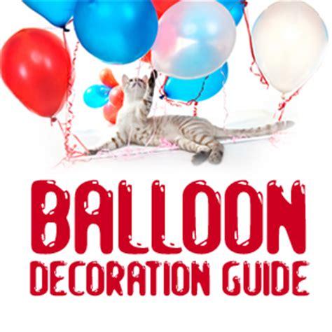 Balloon decorations faq page