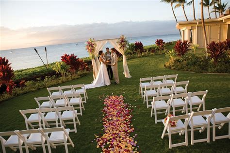 Ask About Honeymoons: Get Married on Maui at the Royal