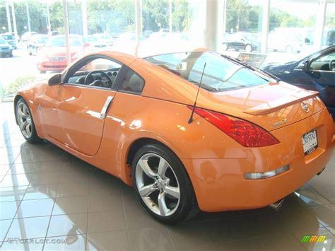 orange nissan 350z 2007 solar orange pearl nissan 350z touring coupe