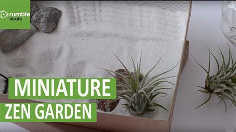 make your own zen garden how to create your own mini zen garden youtube
