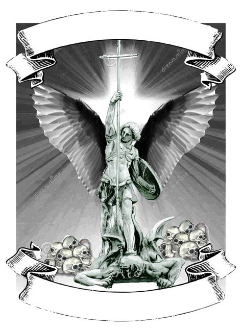 st michael archangel tattoo designs best 25 michael ideas on