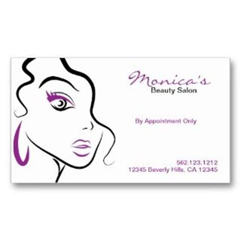 salon appointment cards template salon appointment business card template from