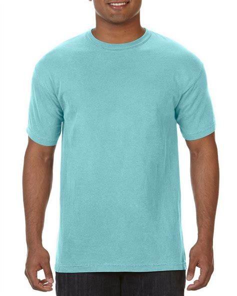 comfort colors chalky mint comfort colors c1717 ringspun garment dyed t shirt