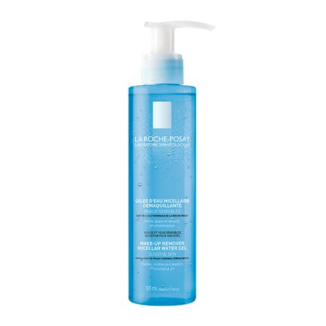 gel water la roche posay physiological make up remover micellar