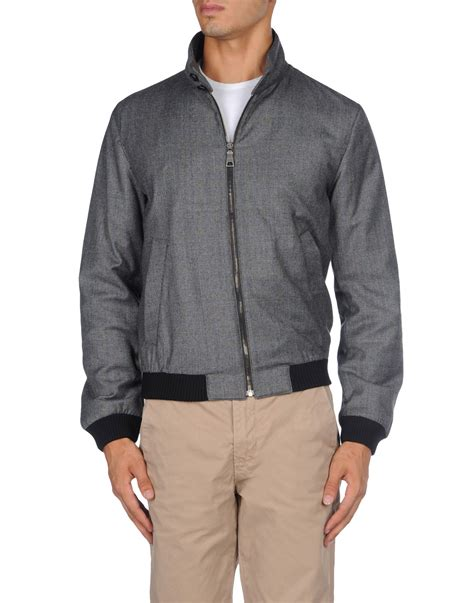 Prada Jaket lyst prada jacket in gray for