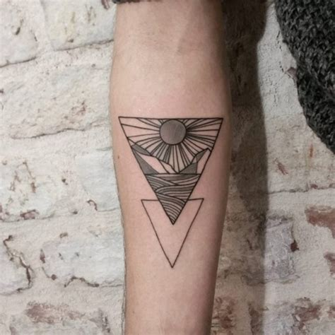 35 cute triangle glyph tattoos nenuno creative