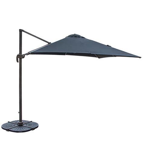 Target Offset Patio Umbrella Tahiti Cantilever Umbrella Black Target Furniture