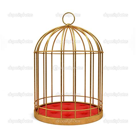 in a cage cage