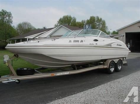 godfrey deck boat for sale 2003 23 2 godfrey hurricane sd237 deck boat for sale in