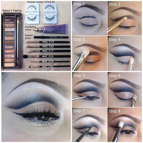 eyeshadow tutorial cut crease cut crease makeup tutorial alldaychic