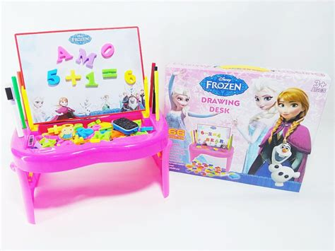 Daftar Meja Belajar Frozen jual promo mainan edukasi studio easel frozen meja
