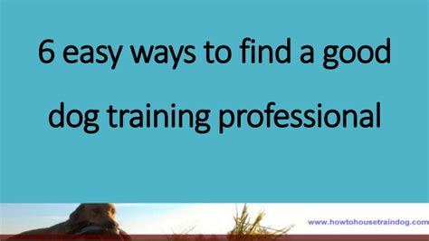 4 easy ways to find 6 easy ways to find a professional