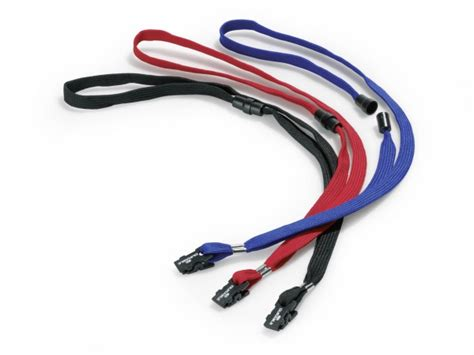 release lanyard fasteners textile lanyard with safety release durable