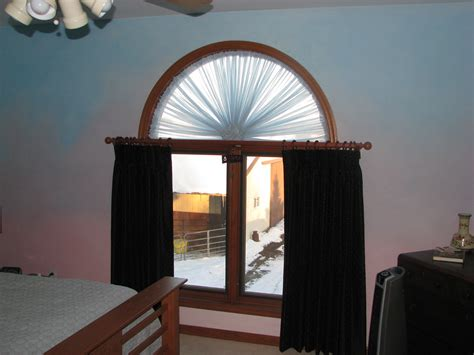 Half Moon Windows Decorating Popular Half Moon Window Treatments Cabinet Hardware Room