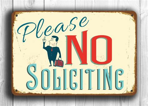 no solicitation signs printable for businesses the homy