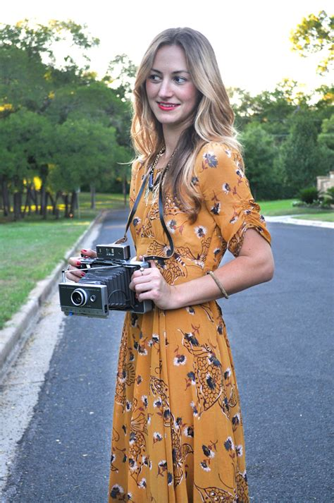 blogger yellow mustard yellow dress livvyland austin fashion and