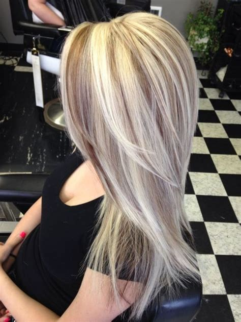 beautiful hair highlights and highlights on